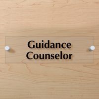 Guidance Counselor Sign