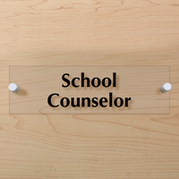 School Counselor Sign