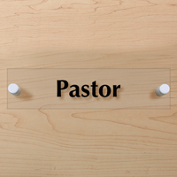 Pastor Sign