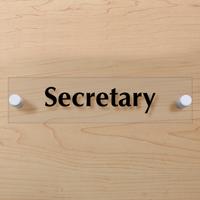 Secretary Sign