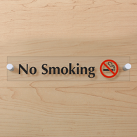 No Smoking ClearBoss Sign