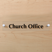 Church Office Sign