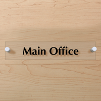 Main Office Sign