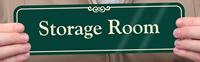 Storage Room Signs