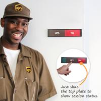 UPS Yes/No Slider Signs