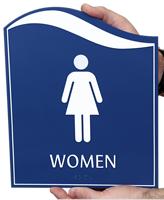 Pacific - Women Restroom Sign