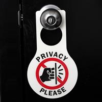 Privacy Please Door Hang Tags