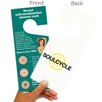 2-Sided Breast Self-Examination Card Hang Tags