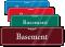 Basement Sign