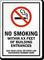 Custom No Smoking Sign