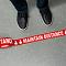 2.25 Inch Floor Marking Tape