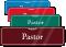 Pastor Sign