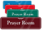 Prayer Room Sign
