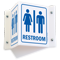Rest Rooms Sign