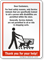 Trained Service Animals Are Permitted Sign