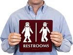 Bathroom Signs Video restroom signs | bathroom signs
