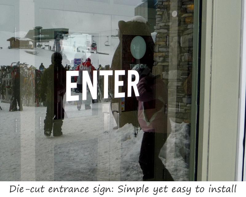 Entrance Door Signs Labels Engraved Entrance Signs