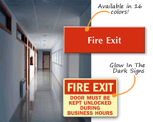 Fire Door Signs & Fire Door Signs - Fire Exit Signs u0026 Not A Fire Exit Signs