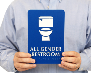 ADA Bathroom Signs ADA Restroom Signs - Ada compliant bathroom signs
