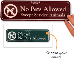 photo regarding No Pets Allowed Except Service Animals Sign Printable referred to as No Animals Permitted Indicators : Continue to keep Animals Absent