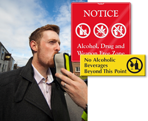 No Alcohol Signs - No Alcoholic Beverages Sign at Best Price