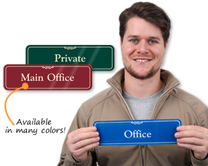 Office Door Signs: Custom Office Signs & Business Door Signs