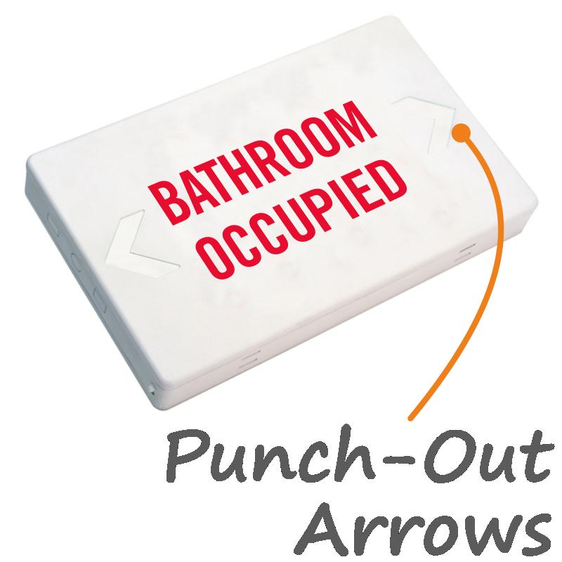 Bathroom Occupied Signs