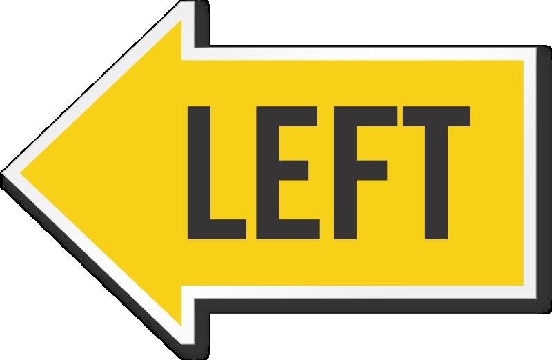 reflective arrow signs