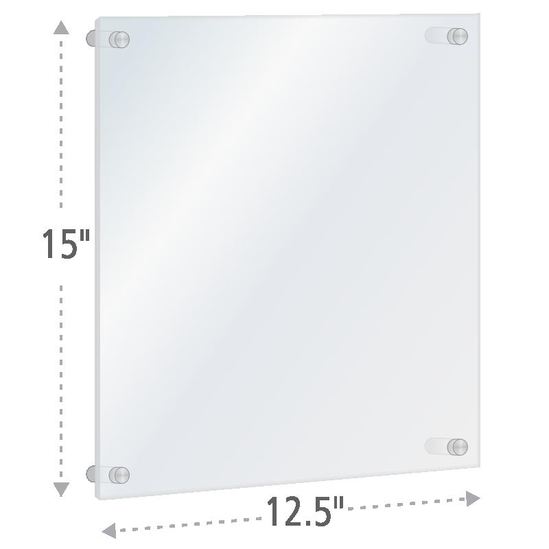 Standoff Sign Frames