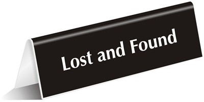 lost and found signs property recovery signs best range