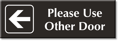 use other door signs from mydoorsign