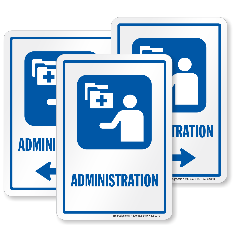 Administration Hospital Sign Medical Admin Symbol Sku S2 0279