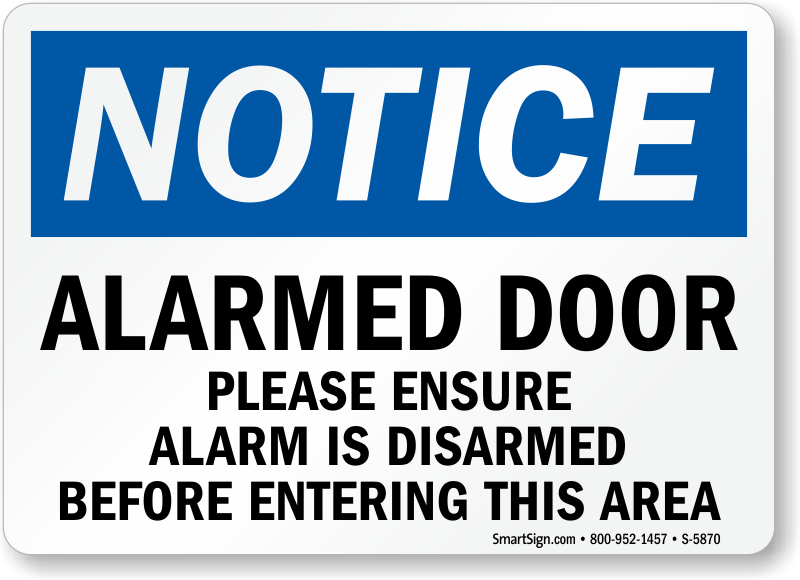 Notice Sign Template Muckgreenidesignco - Door sign template