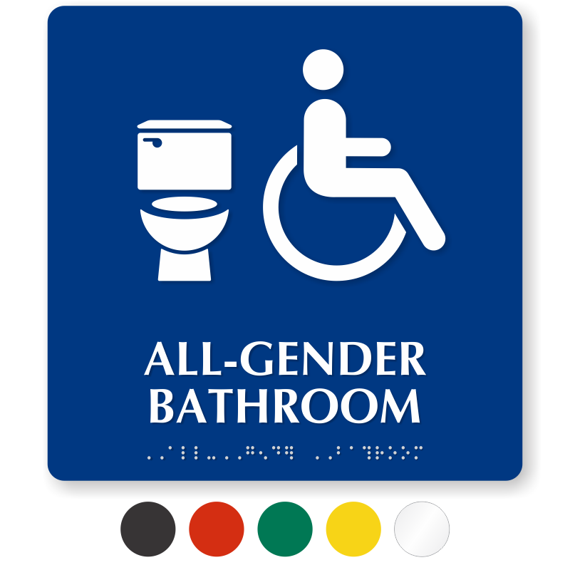 zoom price buy - All Gender Bathroom Sign