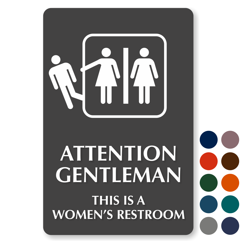 Funny Bathroom Signs Humorous Restroom Signs