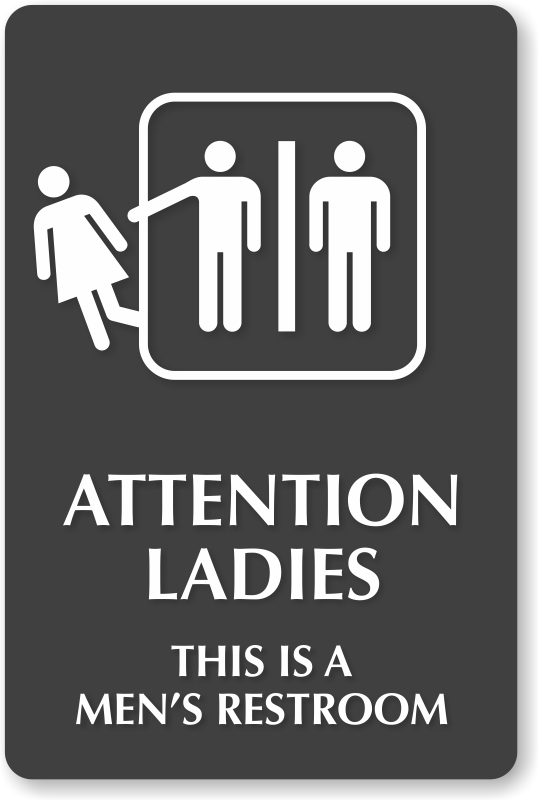 Funny Mens Bathroom Signs Thedancingpa Com
