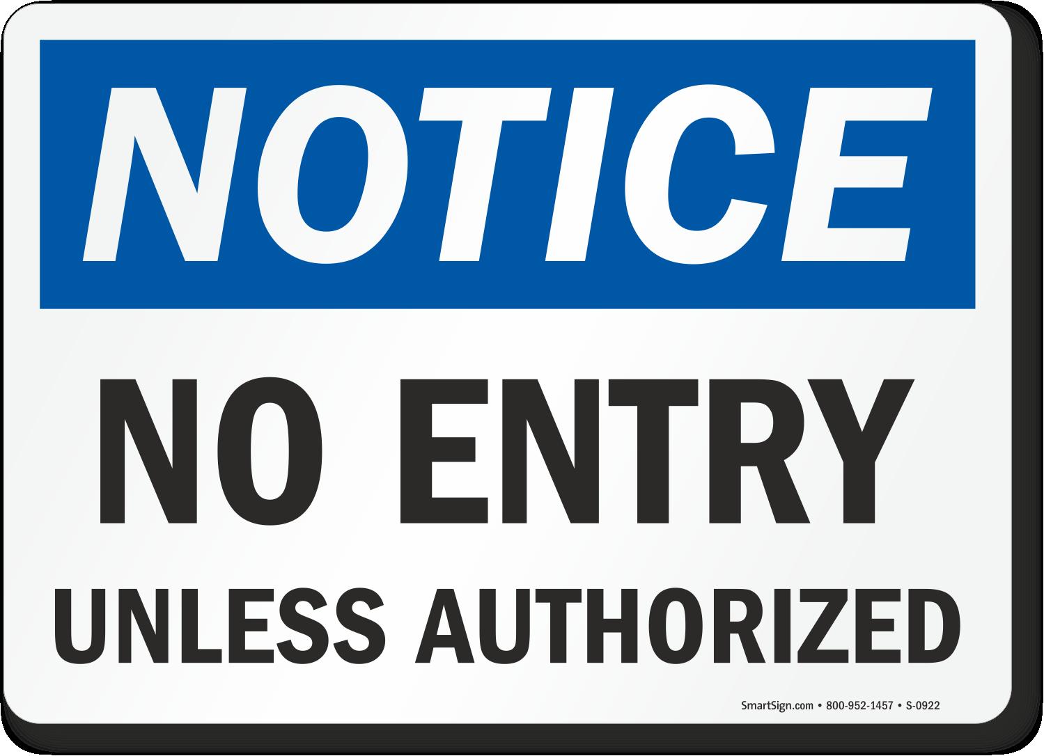 no entry sign no entry door signs