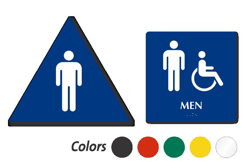 Bathroom Signs California california bathroom sign kit