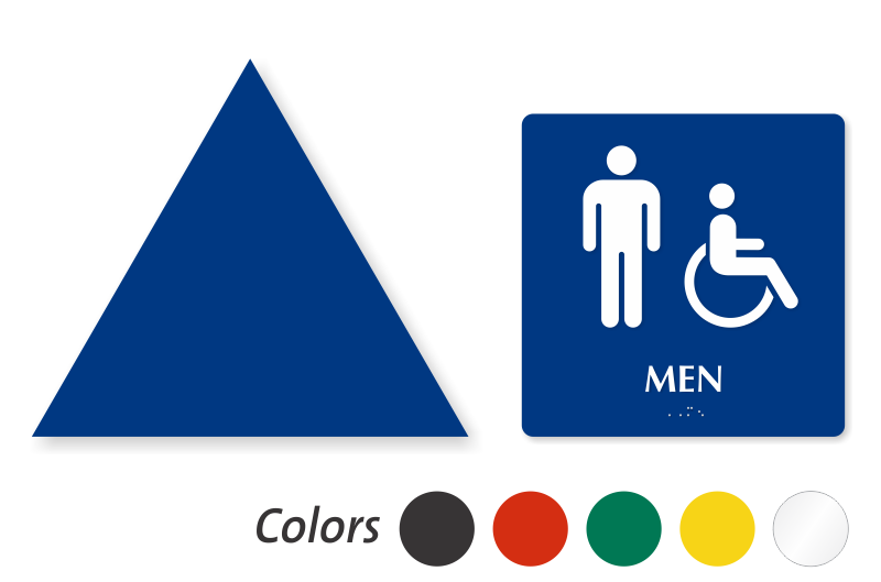 zoom price buy - Mens Bathroom Sign