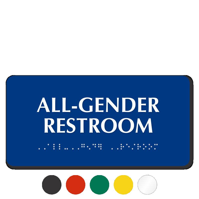 zoom price buy - Gender Neutral Bathroom Signs