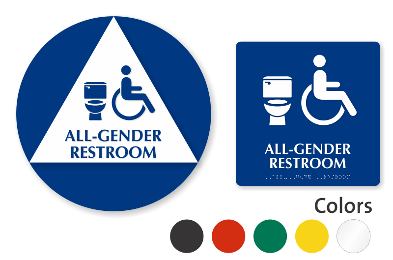 Bathroom Sign Images california bathroom sign kit