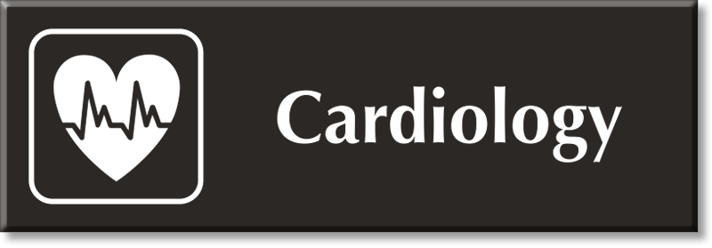 Cardiology Signs Cardiology Door Signs