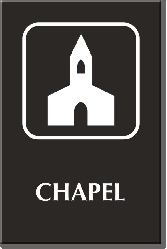 Chapel Signs Chapel Door Signs