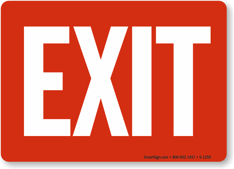 Web Leading Site for Exit Signs and Exit Entrance Signs