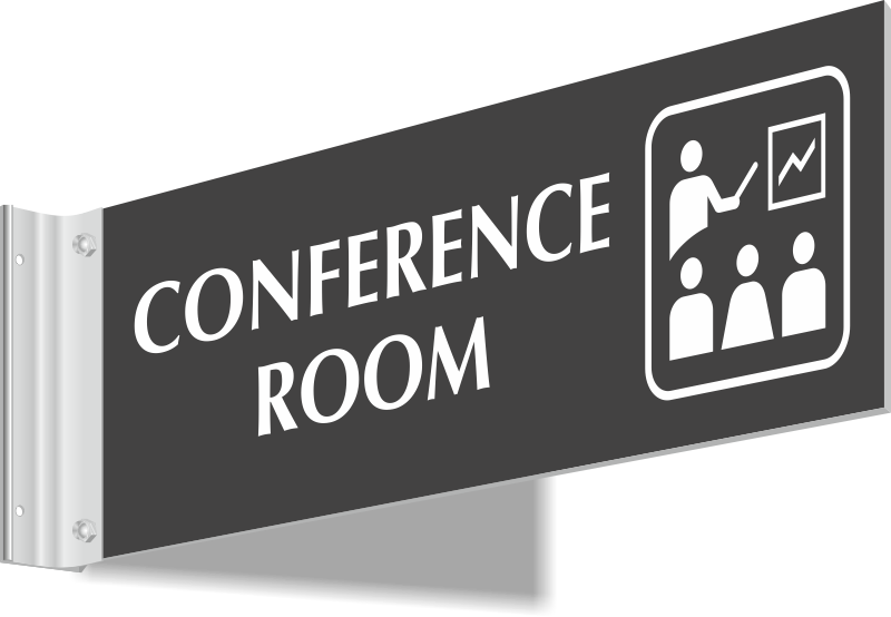 Hallway Signs Above Door Signs - Conference room door signs for offices