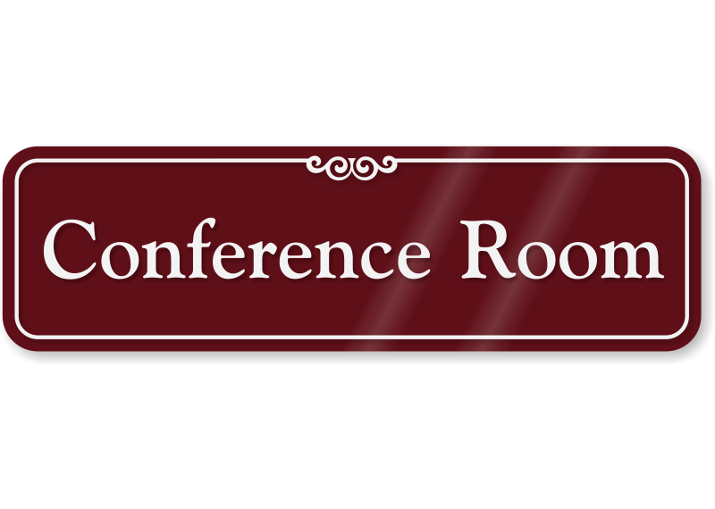 conference room showcase wall sign sku se 2442