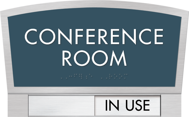conference room signs conference room slider signs