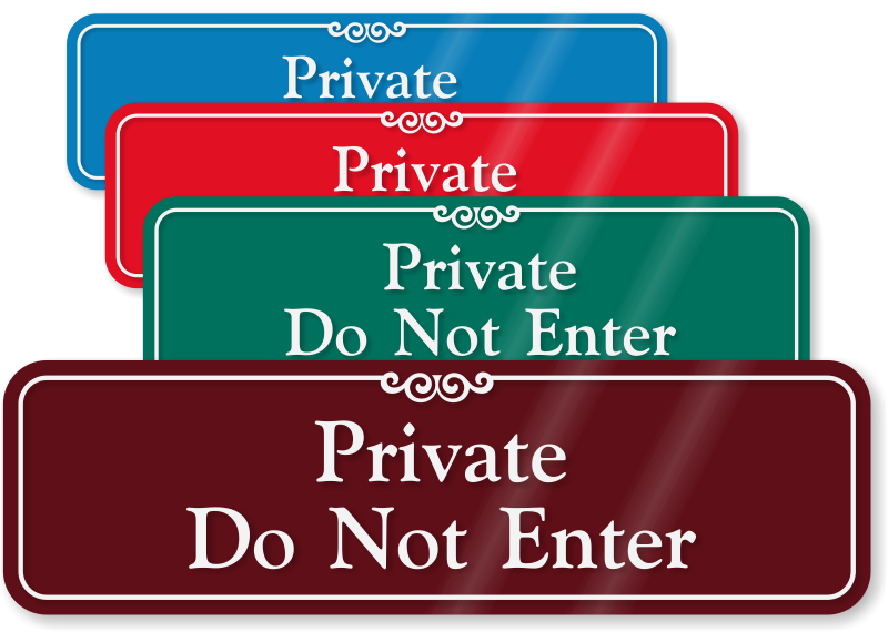 Private Sign Do Not Enter Www Pixshark Com Images