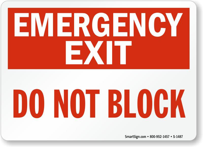 Emergency Exit Signs Best Range High Quality Amp Ships Fast