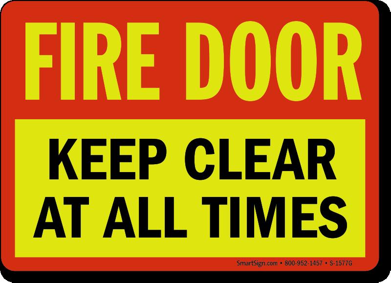 Zoom Price Buy  sc 1 st  MyDoorSign.com & Fire Door Do Not Block Signs | Fire Door Floor Signs